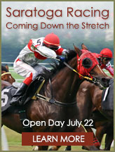 Saratoga Racing - Coming Down the Stretch