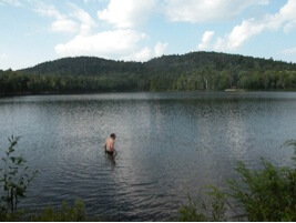 Fishcreek pond in Adirondack Park