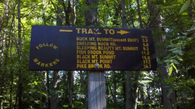 Buck Mountain Saratoga NY