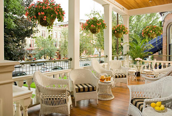 Saratoga Arms Porch