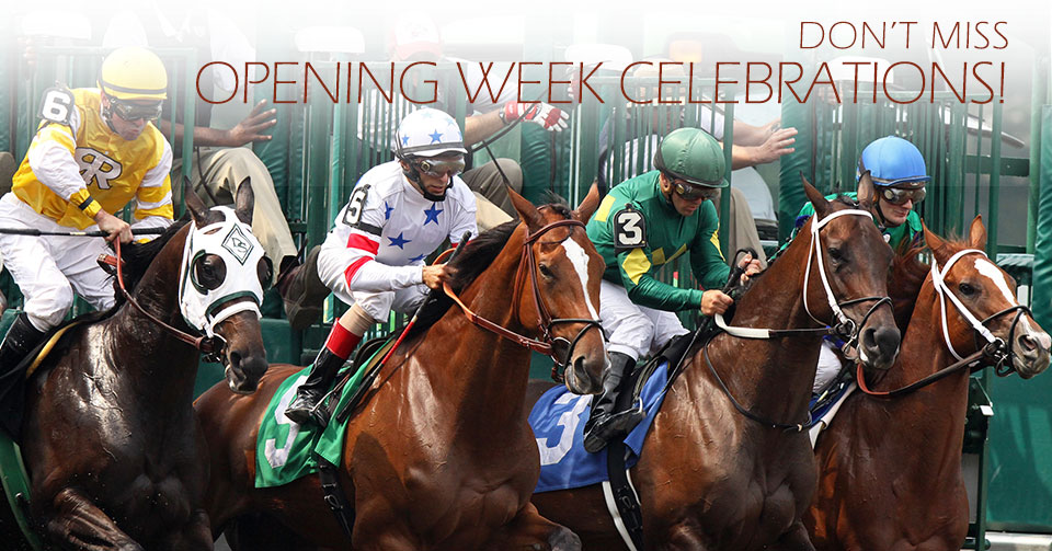 Don't Miss Opening Week Celebrations in Saratoga Springs