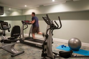 Exercise Room in Saratoga Arms