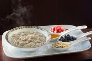 Gluten Free Steel Cut Oatmeal Breakfast