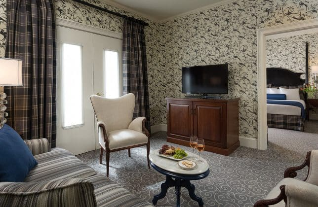 King Suite room at our Romantic NY Bed and Breakfast
