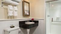Updated bathrooms in our Romantic NY Bed and Breakfast
