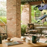 Garden Patio seating area