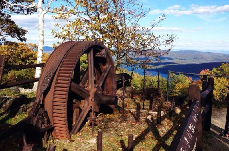 Wheel found on Prospect Mountain Hike