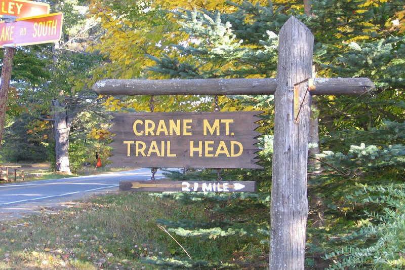 Crane Mountain Trailhead