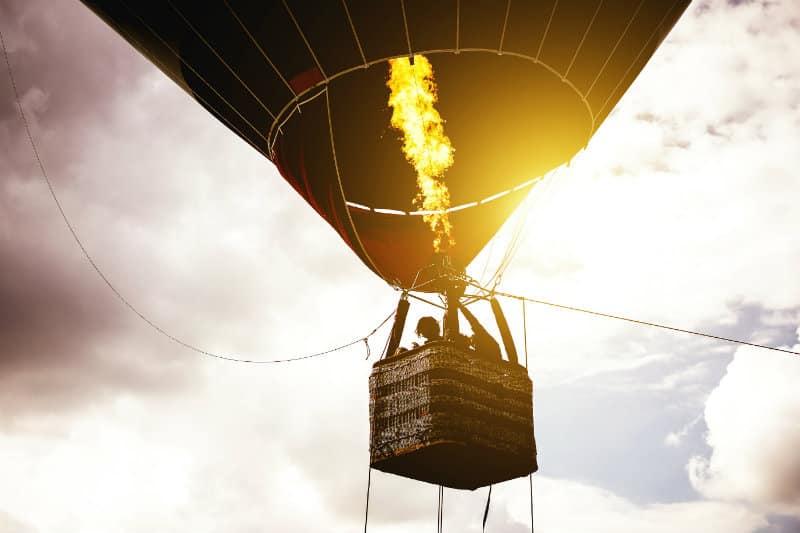 Hot Air Ballooning - Romantic Getaways in Upstate NY