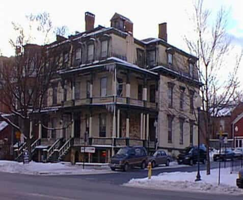 Places to Stay in Saratoga Springs, NY - Historic Picture of Saratoga Arms