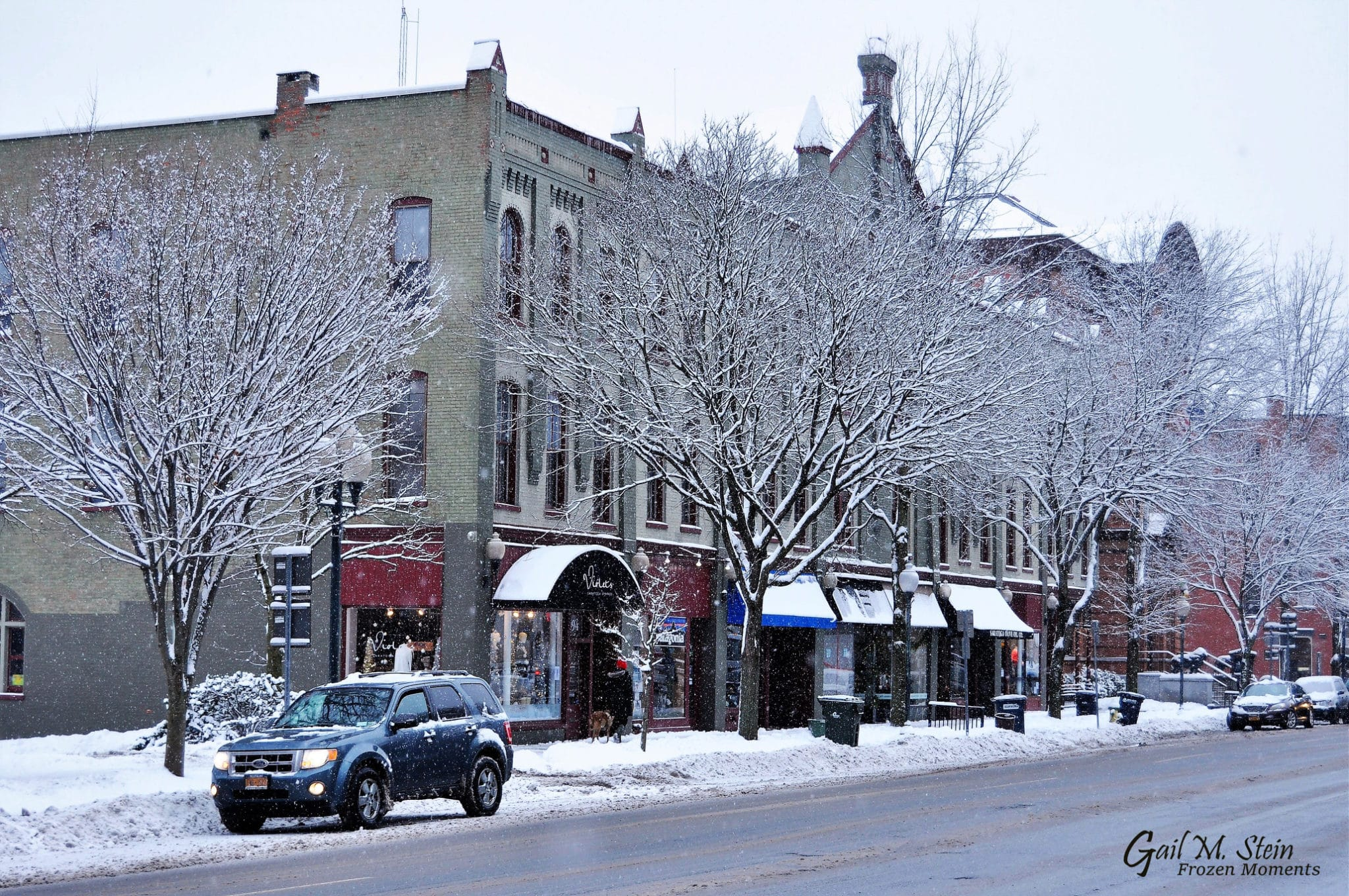 Downtown Shop on Broadway in Saratoga Springs