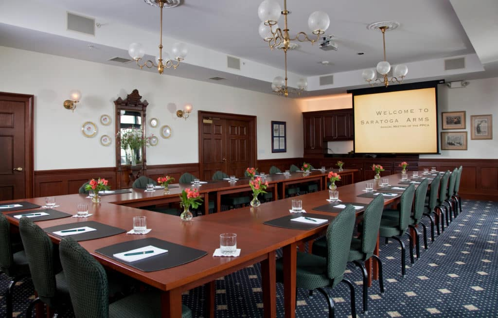 Large Conference Room at Saratoga Arms