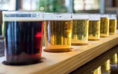 Saratoga Springs Beer Wine - Craft Flight of Beers