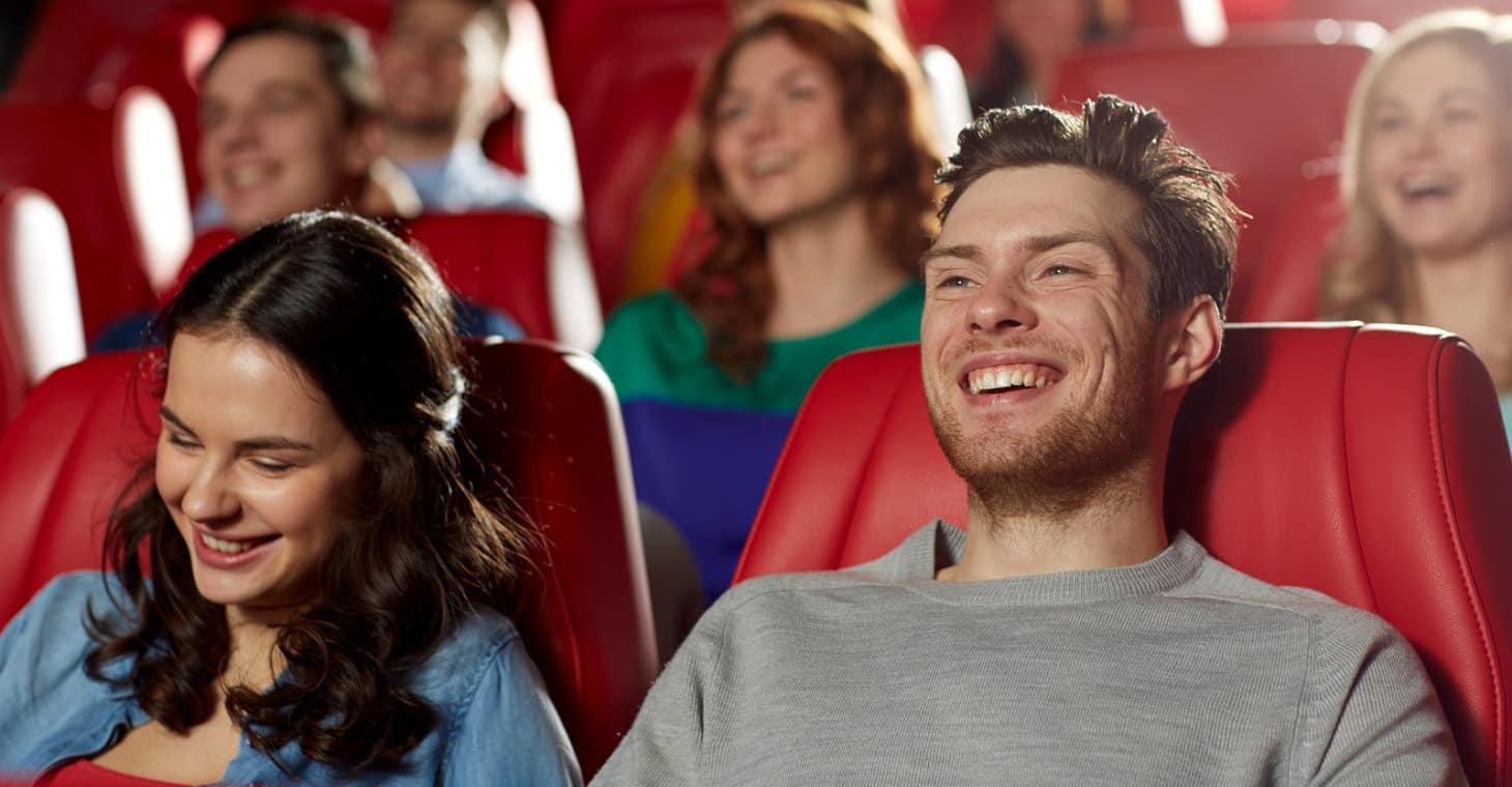 Audience enjoying a show