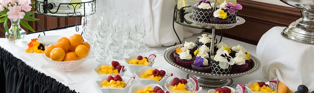 Buffet desserts - Retreats in NY