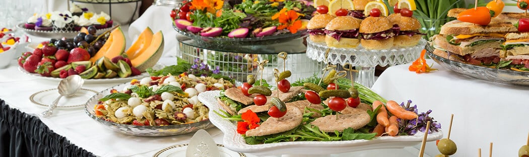 Lunch buffet - Catering a Business Conference in Upstate New York