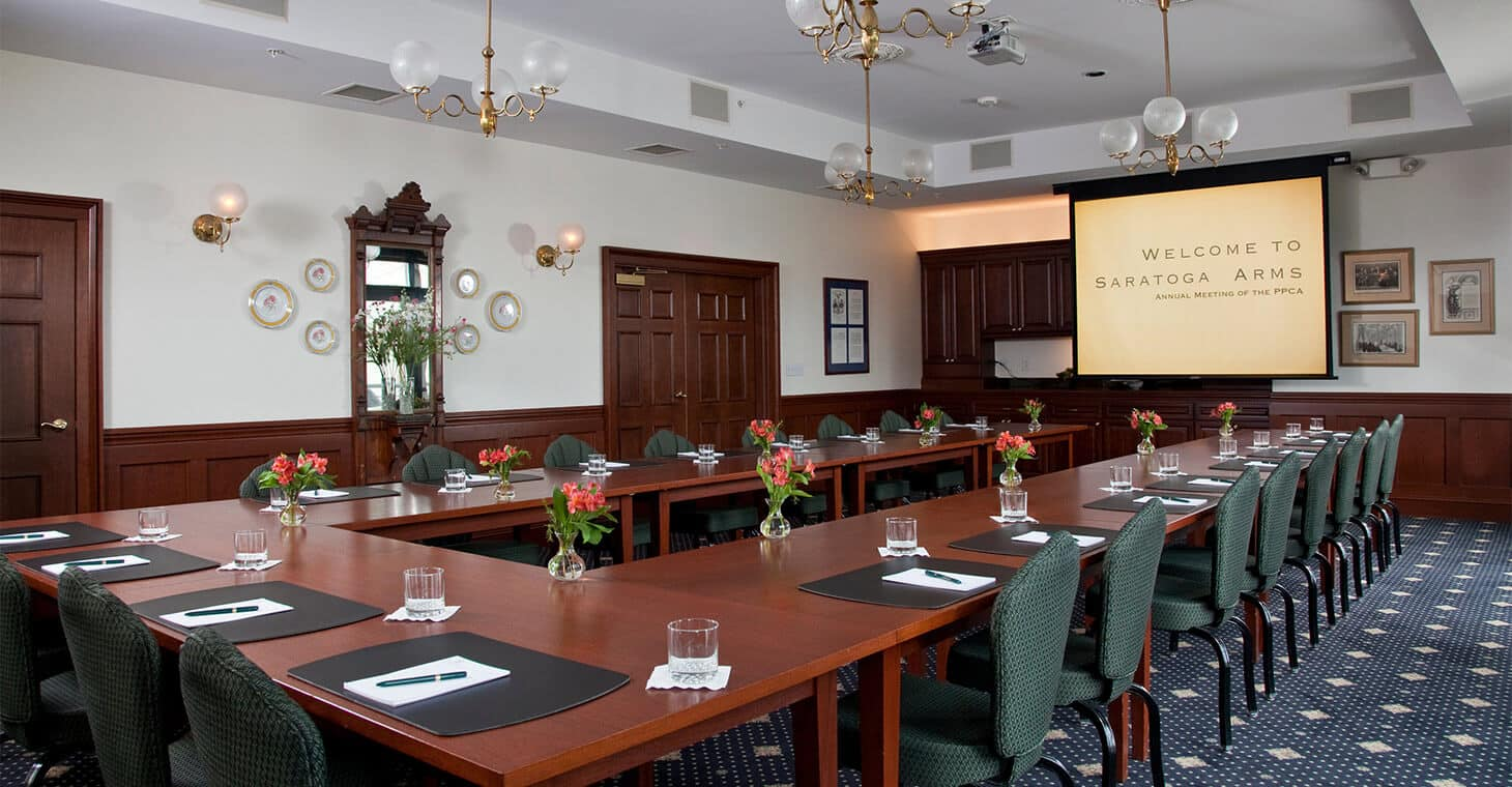 The President Grant Room - Business Retreats in Saratoga Springs, NY